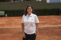 Conchita Martínez, entrenadora de Karolina Pliskova para el US Open