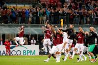 El Milan bate a la Roma en el 95' y logra su primer triunfo