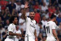 El Madrid golea al Leganés en el debut de Courtois