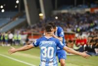 El Málaga firma en Almería el pleno de victorias y se queda líder en solitario en Segunda