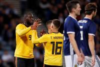 Lukaku y Hazard tumban a Islandia