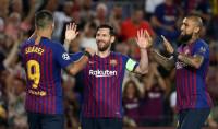 Messi abre con 'hat-trick' su reto en la 'Champions'