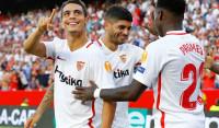 'Manita' del Sevilla para iniciar el camino a la sexta