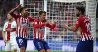 El Atlético pone la quinta (3-0)
