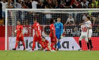 El Sevilla empequeñece al Madrid de Lopetegui