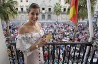 Huelva recibe a Carolina Marín como