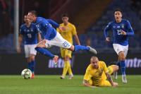 Italia no pasa del empate con Ucrania (1-1)