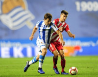La Real Sociedad empata con el Girona y sigue sin ganar en Anoeta