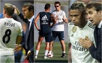 Kroos, Mariano y Ceballos, únicos jugadores del Real Madrid que se despiden de Lopetegui