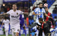 El Valencia sufre para ganar al Ebro (1-2) y el Lega reacciona a tiempo ante el Rayo (2-2)
