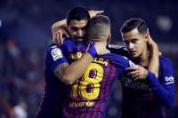 El Barça escapa con los tres puntos de Vallecas