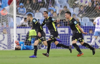El Granada se pone líder en Zaragoza