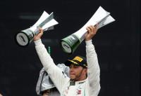 Hamilton gana como campeón y le da el título a Mercedes