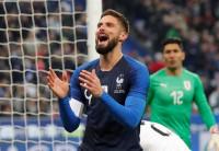 Francia, Italia y Brasil ganan sus amistosos ante Uruguay, EEUU y Camerún