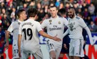 El Real Madrid gana pidiendo la hora en El Alcoraz