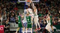 Madrid y Baskonia ganan y la lucha por la Copa se aprieta