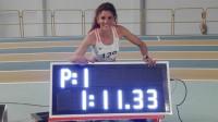 Laura Bueno bate el récord de España de 500 metros bajo techo
