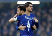 Morata disfruta de la FA Cup y Cesc Fàbregas se despide