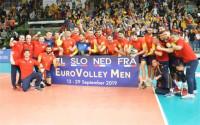 España accede al Europeo de voleibol masculino tras ganar a Bielorrusia