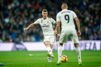 El Real Madrid pierde a Toni Kroos varios partidos por una lesión en el aductor izquierdo