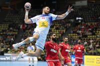 Los 'Hispanos' arrollan a Baréin en su estreno en el Mundial