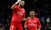 Benzema brilla con un Real Madrid recuperado