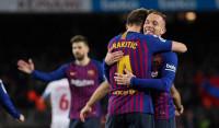 El Barça aplasta al Sevilla en otra remontada copera