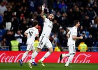 El Real Madrid comienza enchufado su febrero de órdago