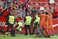 Osasuna, líder provisional tras ganar en El Molinón