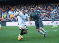 Gayà y Rodrigo, bajas por lesión en el Valencia para la visita al Celtic