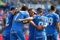 El Getafe se pone en 'Champions' y el Athletic sigue la escalada