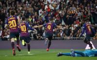 El Barça da el golpe de la Copa en el Bernabéu