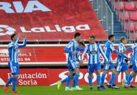 El Deportivo retoma el pulso a la promoción y complica al Numancia