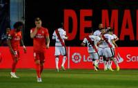 El Rayo logra vida ante un Madrid inofensivo