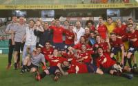 Osasuna se proclama en El Arcángel campeón de Segunda División