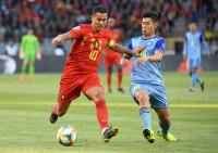 Hazard celebra su centenario con Bélgica con un cómodo triunfo ante Kazajistán