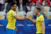 Brasil aplasta a Perú (5-0) en su camino a cuartos de final