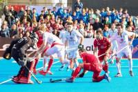 Los 'Red Sticks' inician el Europeo con una clara derrota ante los anfitriones