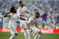 Benzema ilumina al Real Madrid (3-2)