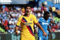 Un práctico Barça sonríe en el Coliseum
