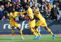 El Barça salva los muebles ante el colista