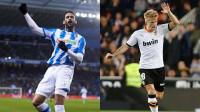 Una Real de 'Champions' golea al Eibar y el Valencia aprieta la pelea europea