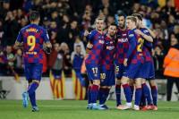 El Barça se impregna de la euforia de Messi