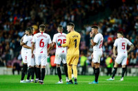 El Sevilla cierra el año en 'Champions' en Son Moix y el Getafe tropieza en La Cerámica