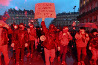 La huelga de trabajadores del transporte de Francia, la más prolongada en la historia del país