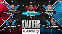 Doncic será titular en el 'All Star' con James y Antetokounmpo repitiendo como capitanes