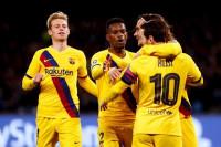 El Barça respira gracias a un único disparo de Griezmann