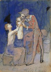El Museo Picasso de Málaga plantea un recorrido digital sobre la figura del arlequín, el teatro y el pintor