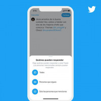 Twitter deja elegir quién puede responder a un 'tuit' en la conversación iniciada por el usuario