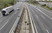El tráfico aumentó este domingo, registrando por primera vez una reducción por debajo del 80%